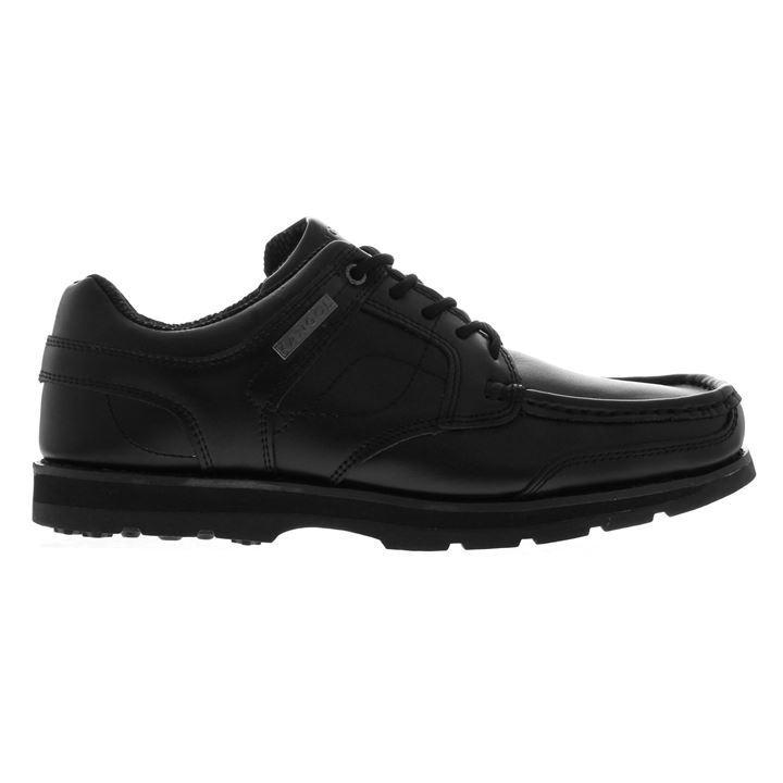 Kangol Harrow Lace Leather Mens Shoes - Black