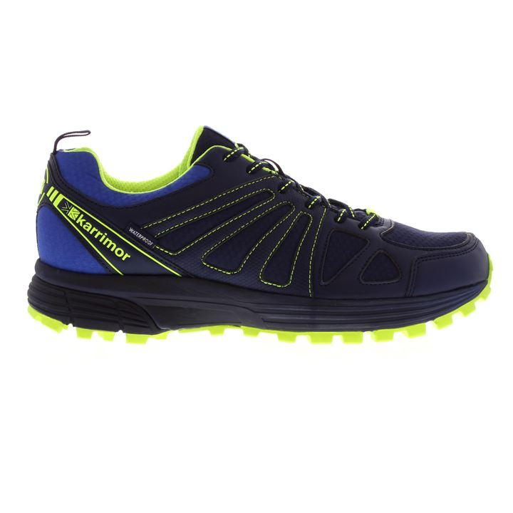 Karrimor Caracal Waterproof Trail - Navy Fluo