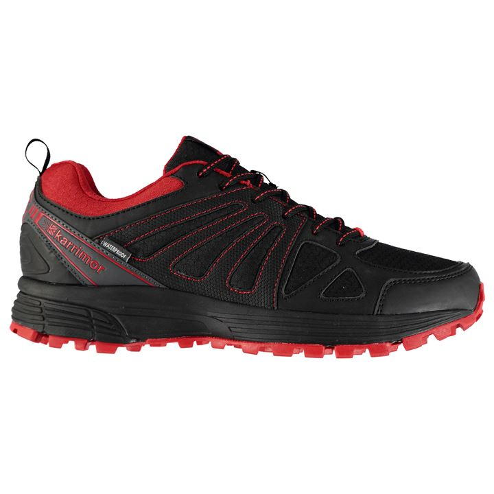 Karrimor Caracal Waterproof Trail - Black Red