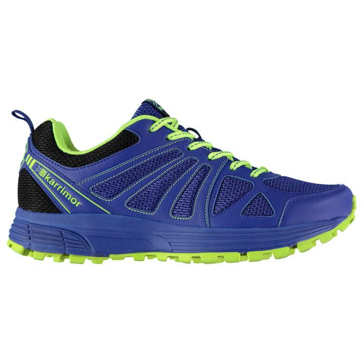 Karrimor Caracal Mens Trail Running - Blue Lime