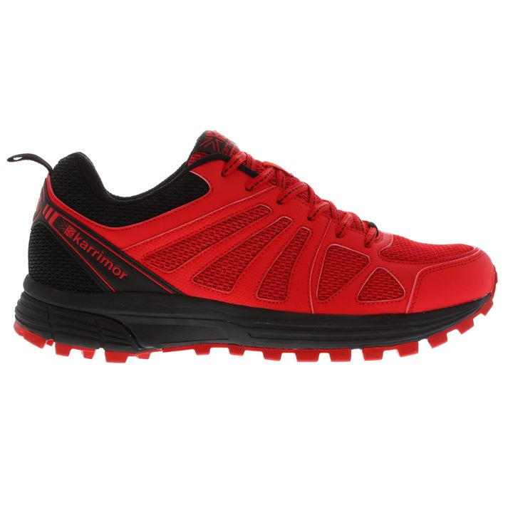 Karrimor Caracal Mens Trail Running - Red Black