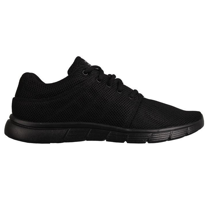 Fabric Reup Runner Trainers - Black Black