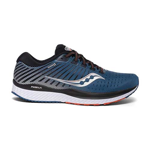 Saucony Mens Guide 13 - Blue Silver