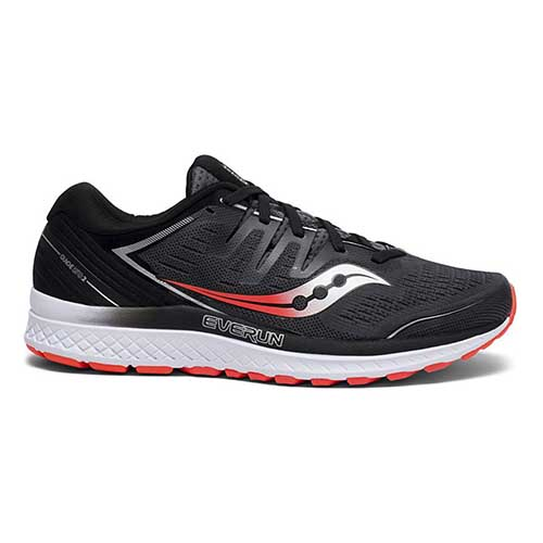 Saucony Mens Guide ISO 2 - Black Grey