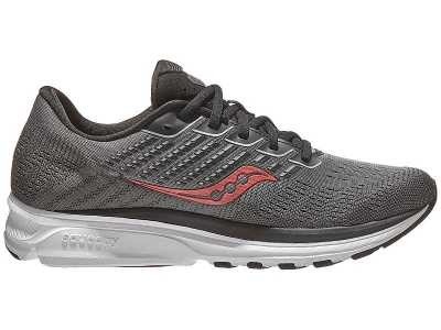 Saucony Ride 13 Mens Shoes - Charcoal Black