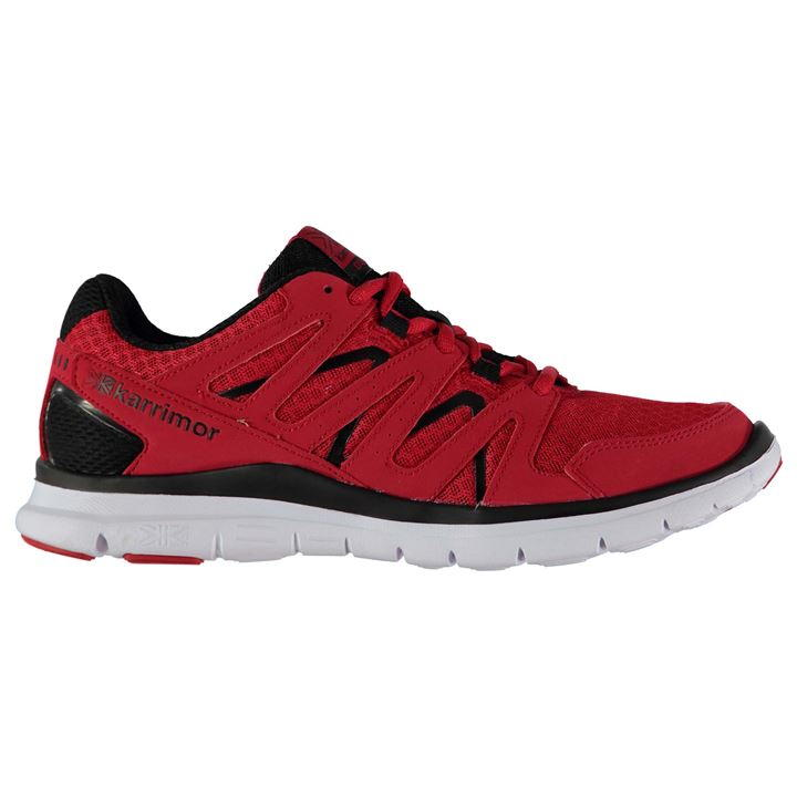 Karrimor Duma Mens Running Shoes - Red Black