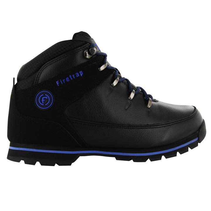FireTrap Rhino Boots - Black Blue
