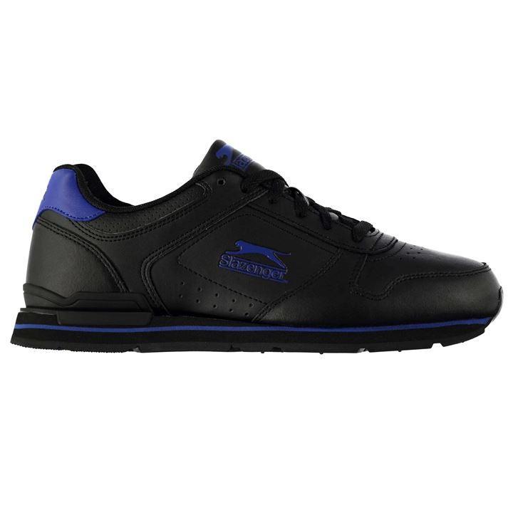Slazenger Classic Mens Trainers - Black Blue