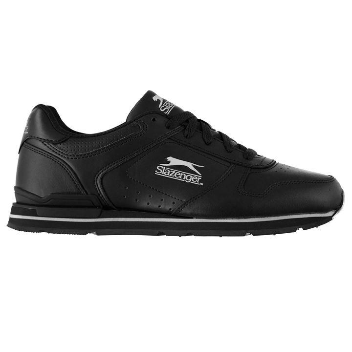 Slazenger Classic Mens Trainers - Navy White