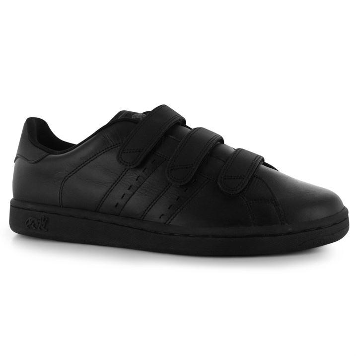 Lonsdale Leyton Velcro - Black Black
