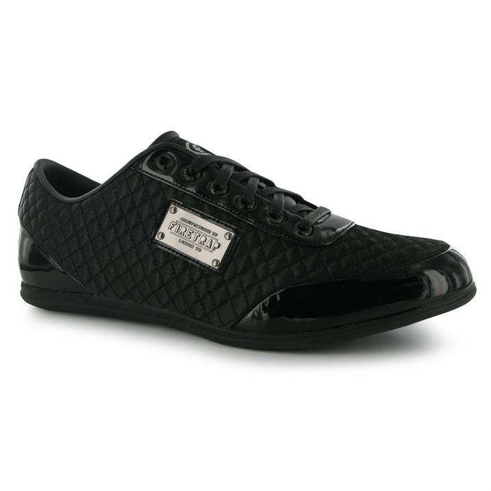 Firetrap Dr Domello Mens Trainers - Black