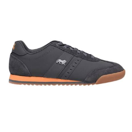 Lonsdale Lambo Mens Trainers - Grey