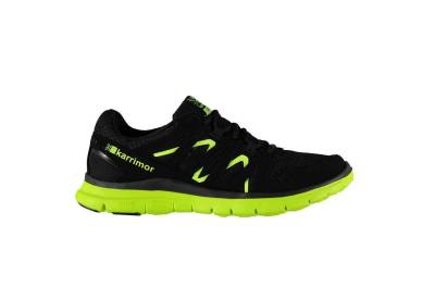 Karrimor Duma Mens Running Shoes - Black Fluo