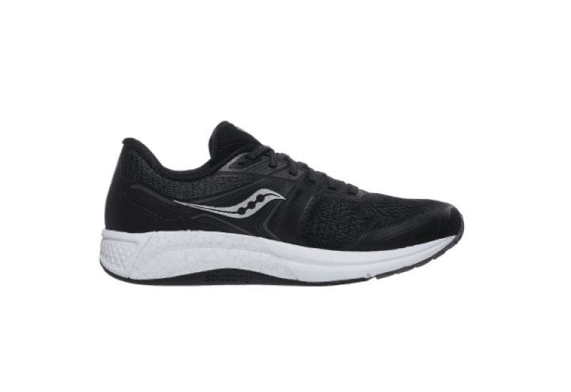 Saucony Omni 19 Mens Shoes - Black White