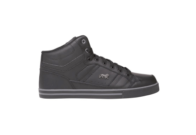 Lonsdale Canons Mens Trainers - Black Charcoal